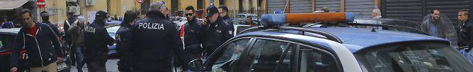 Der Tag: 18:48 Polizei nimmt 45 weitere Mafia-Verdächtige fest