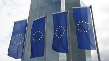 EZB-Leitzins unverändert: Euro-Währungshüter halten am Nullzins fest