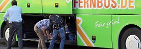 Gepäck im Blick: Flixbus testet Überwachungskameras