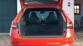 Raumangebot im Vergleich: Skoda Superb übertrumpft Lademeister von Mercedes