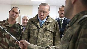Türkische Offensive gegen Kurden: Erdogan kündigt Fortführung der Kämpfe in Afrin an
