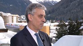 """Frank Appel in Davos: """"Protektionismus ist keine Antwort"""""""