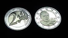 6,3 Millionen Münzen mit dem Schmidt-Porträt werden geprägt.