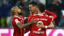 Sandro Wagner über seine Rolle als Backup für Robert Lewandowski beim FC Bayern.