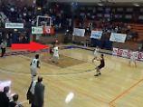 Der Sport-Tag: Ekstase: 15-Jähriger dreht Basketball-Spiel mit irrem Wurf