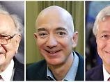 Vorstoß ins Versicherungswesen: Buffett, Bezos und Dimon bündeln ihre Kräfte