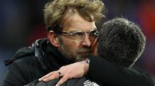 Duell der Trainerkumpel: Liverpool schießt die Krise weg