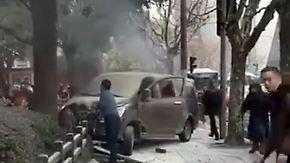 18 Verletzte in chinesischer Metropole: Gasflaschen-Laster rast in Menschengruppe in Shanghai