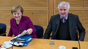 Endspurt der GroKo-Verhandlungen: Union und SPD wollen die letzten Streitigkeiten begraben