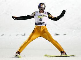 Bei Olympischen Spielen ist Simon Amann immer in Topform.