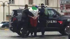 Fremdenhass als Motiv: Rechtsextremer Italiener schießt auf Migranten