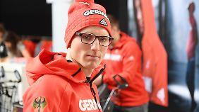 Erik Lesser war vor Weihnachten krank, kämpfte sich danach wieder an die Spitze ran.