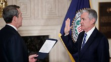 In schwieriger Zeit: Neuer Fed-Chef Powell tritt an