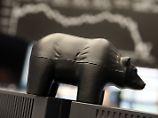 In Frankfurt haben am Donnerstag die Bären das Sagen.