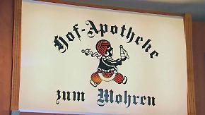 """Tradition versus Minderheitenrechte: Rassismusstreit erreicht """"Mohren-Apotheken"""""""