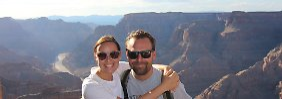 Paar auf einjähriger Weltreise: Mit 120 km/h im Blindflug durch Mexiko