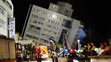 Erdbeben in Taiwan: Mehr als 200 Menschen verletzt