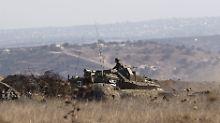 Vergeltung für Chemiewaffen?: Syrien meldet israelischen Angriff