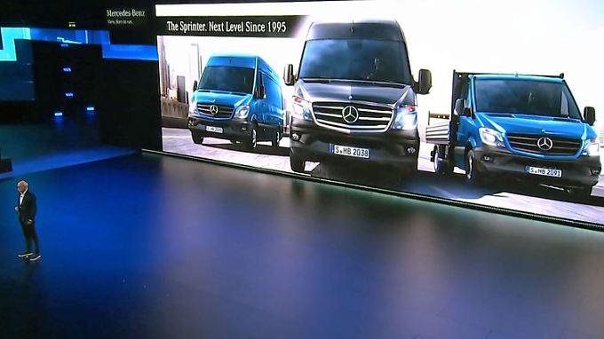 Zukunftsfähiger Verkaufsschlager: Mercedes peppelt den Sprinter auf