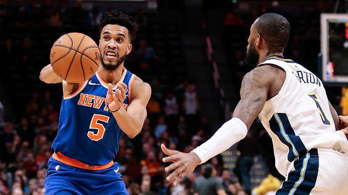 Knicks Guard Courtney Lee
