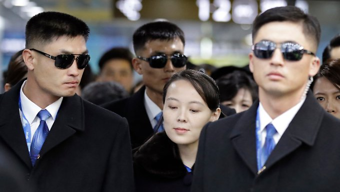 Zeichen der Annäherung bei Olympia: Schwester von Kim nimmt an Eröffnungszeremonie teil