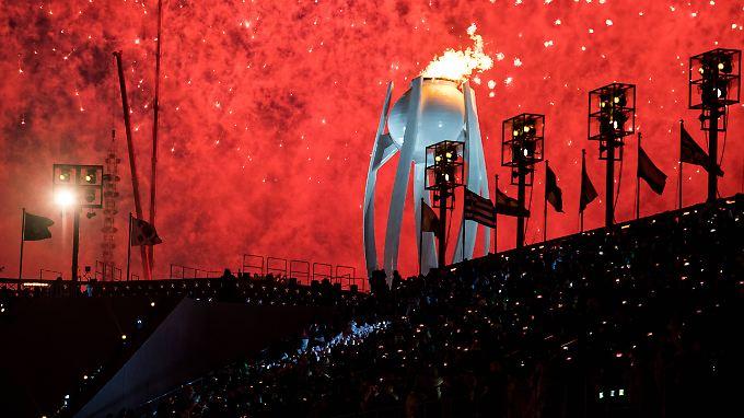 In Pyeongchang geht's ab sofort um Bronze, Silber und Gold.