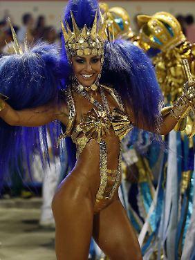 In den nächsten Tagen defilieren die besten Samba-Schulen durch die Stadt.