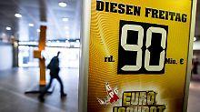 Fünf Millionäre in Deutschland: Finnen sichern sich 90-Millionen-Jackpot