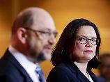Nach Schulz' Rückzug: Die Lage der SPD ist zum Fürchten