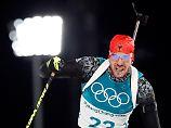 """""""War eigentlich nicht mein Tag"""": Peiffer sorgt für Gold-Sensation im Biathlon"""