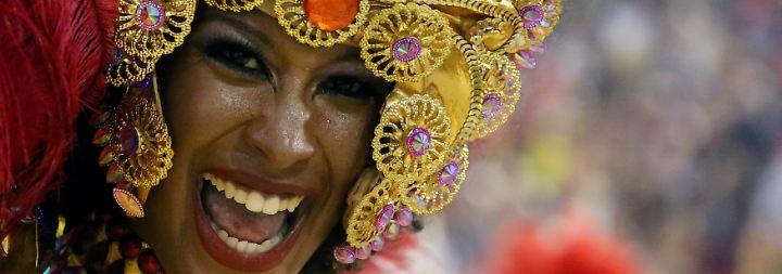 Nackte Haut und heiße Rhythmen: Rios Karneval erreicht den Höhepunkt