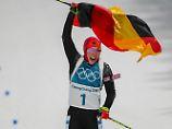 Olympischer Doppelcoup: Dahlmeier vergoldet die Biathlon-Verfolgung