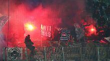Nach Fan-Randalen im Derby: Rapid Wien wird hart bestraft