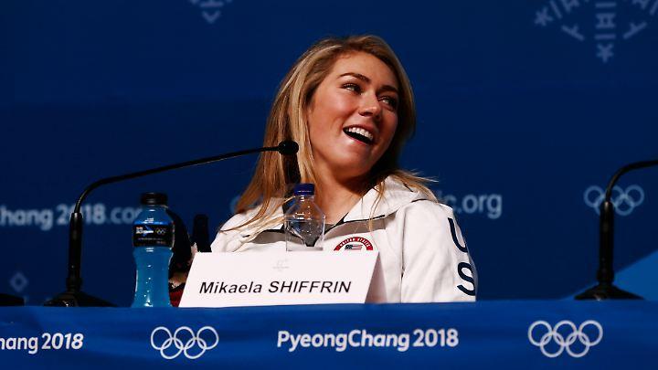 """""""Sie ist den Leuten einfach egal"""": Mikaela Shiffrin."""