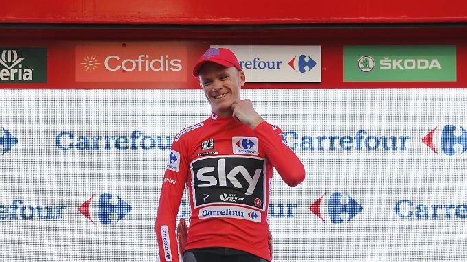 Chris Froome steht seit der Vuelta 2017, die er gewann, unter Dopingverdacht.