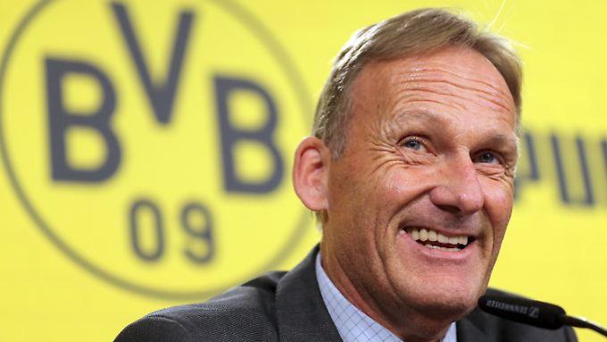 Borussia Dortmund und Hans-Joachim Watzke sind untrennbar - zumindest bis 2022.