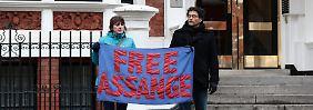 Haftbefehl erneut bestätigt: Assange soll sich britischer Justiz stellen