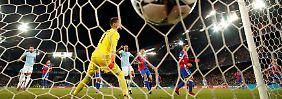 CL-Viertelfinale quasi gebucht: Manchester City zerlegt hilfloses Basel