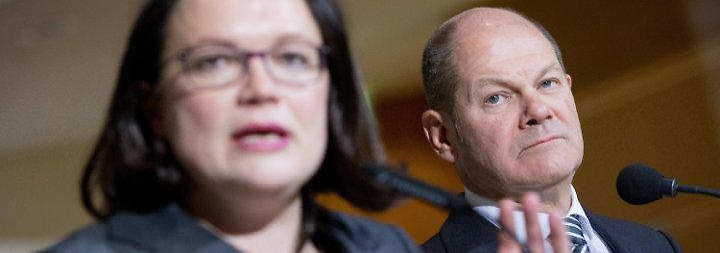 Nahles bekommt Gegenkandidatin: Scholz wird kommissarischer SPD-Chef