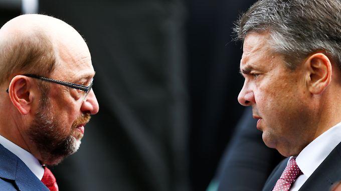 Martin Schulz hat auf die Entschuldigungs-SMS von Sigmar Gabriel offenbar nicht geantwortet.