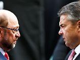 Martin Schulz hat auf die Entschuldigungs-SMS seines Genossen Sigmar Gabriel dem Vernehmen nach nicht geantwortet.
