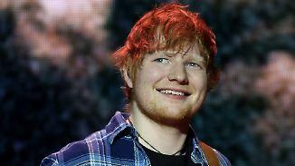 Promi-News des Tages: Ed Sheeran will eigene Hochzeitskapelle bauen