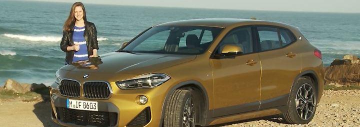 Neue Zielgruppe im Visier: BMW X2 schlägt Brücke zwischen SUV und Coupé