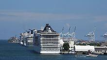 Millionen Passagiere unterwegs: Floridas Kreuzfahrthäfen boomen wie nie