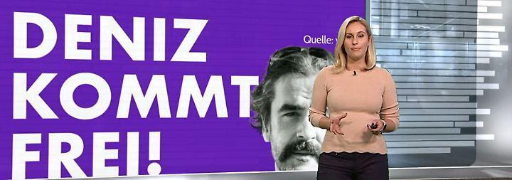 n-tv Netzreporterin: Freilassung von #Yücel löst Jubelsturm aus
