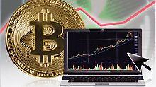 Der Börsen-Tag: Hält die Blase? Bitcoin macht Verluste wieder wett
