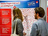 Erste Regionalkonferenz: SPD-Spitze wirbt für GroKo-Ja