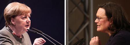Politiker-Ranking: Nahles sackt ab - Merkel hält sich an Spitze