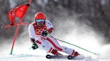 Olympischer Riesenslalom: Marcel Hirscher auf dem Weg zu Gold