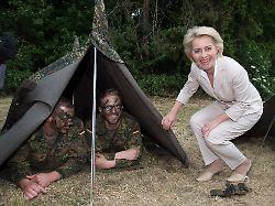 Massive Versorgungslücken: Der Bundeswehr gehen die Zelte aus